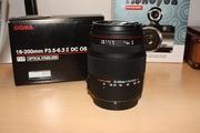 Sigma 18-200mm F3.5-6.3 DC OS HSM II