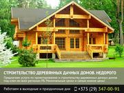 Строительство деревянных дачных домов. Гродно.