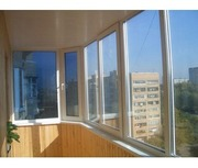 Окна ПВХ,  Балконные рамы