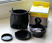 Широкоугольный конвертер Sony VCL-DH0758  58мм