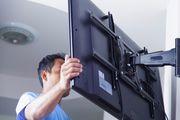 Установка кронштейна для телевизора